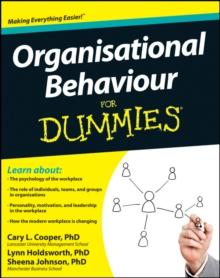 Image for Organisational behaviour for dummies
