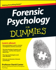 Image for Forensic psychology for dummies
