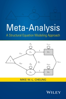 Image for Meta-analysis  : a structural equation modeling approach