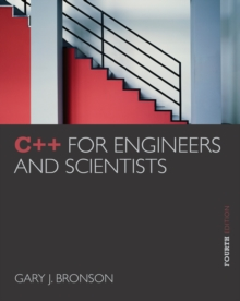 Image for C++ for engineers and scientists