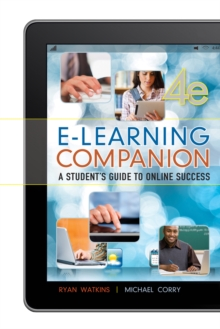 Image for E-learning companion  : a student's guide to online success