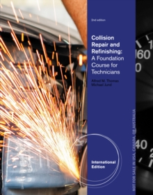 Image for Collision repair and refinishing  : a foundation course for technicians
