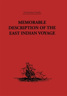 Image for Memorable Description of the East Indian Voyage: 1618-25