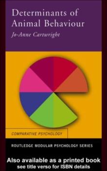 Image for The determinants of animal behaviour