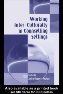 Image for Working inter-culturally in counselling settings