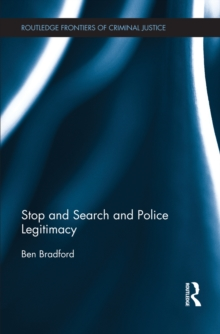 Image for Stop and search and police legitimacy