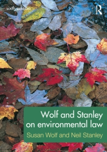 Image for Wolf and Stanley on environmental law