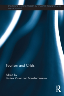 Image for Tourism and crisis