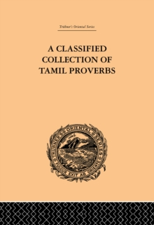 Image for A classified collection of Tamil proverbs