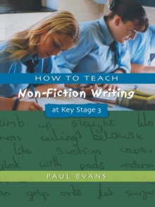 Image for How to teach non-fiction writing at Key Stage 3