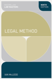 Image for Legal method