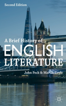 Image for A brief history of English literature