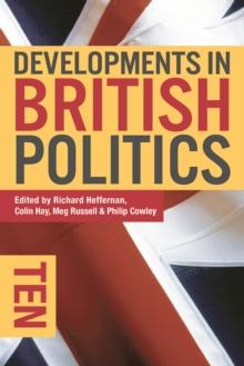 Image for Developments in British politics 10