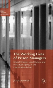 Working Lives of Prison Managers