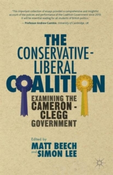 Image for The Conservative-Liberal coalition  : examining the Cameron-Clegg government