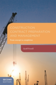 Image for Construction contracts preparation and management  : from concept to completion