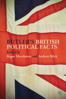Image for Butler's British political facts