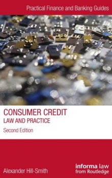 Image for Consumer credit  : law and practice