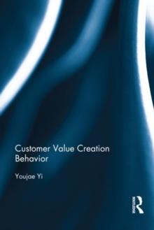 Image for Customer value creation behavior