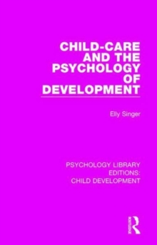 Image for Child-care and the psychology of development