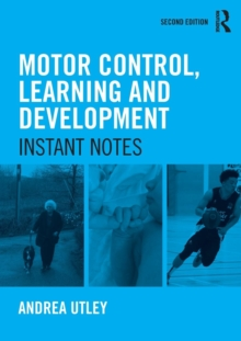 Image for Motor control, learning and development