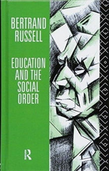 Image for Education and the social order