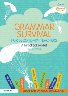 Image for Grammar survival for secondary teachers  : a practical toolkit
