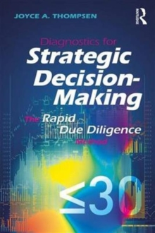 Image for Diagnostics for strategic decision-making  : the rapid due diligence model