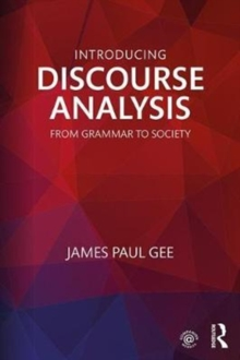 Image for Discourse analysis  : from grammar to society