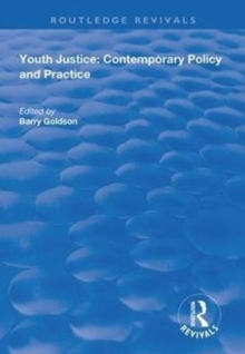 Image for Youth Justice : Contemporary Policy and Practice