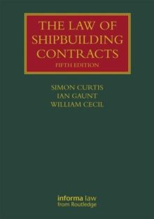 Image for The law of shipbuilding contracts