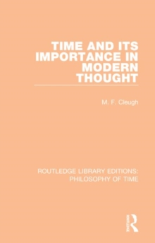 Image for Time and its importance in modern thought