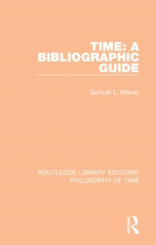 Image for Time: A Bibliographic Guide