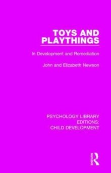Image for Toys and playthings in development and remediation