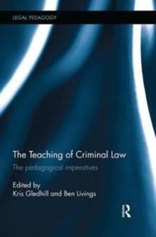 Teaching of Criminal Law