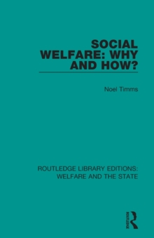 Image for Social welfare  : why and how?