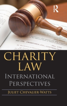 Image for Charity law  : international perspectives