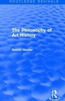 Image for The philosophy of art history