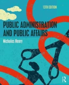 Image for Public administration and public affairs