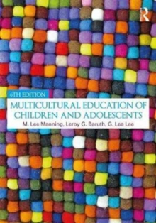 Image for Multicultural education of children and adolescents