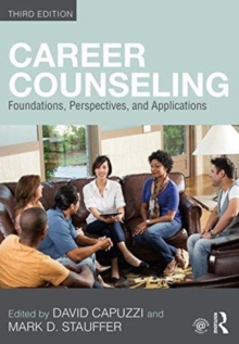 Image for Career counseling  : foundations, perspectives, and applications