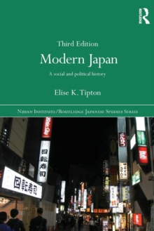 Image for Modern Japan  : a social and political history