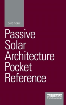 Image for Passive solar architecture pocket reference