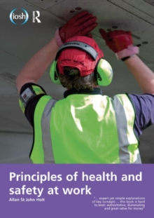 Image for Principles of health and safety at work