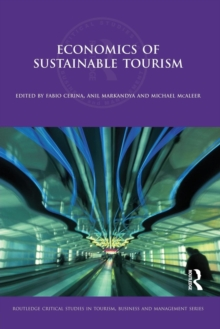 Image for Economics of sustainable tourism