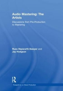 Image for Audio mastering  : the artists
