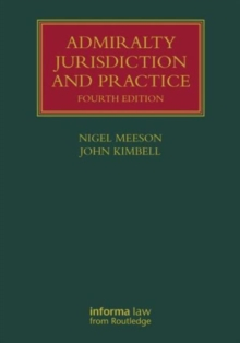 Image for Admiralty jurisdiction and practice