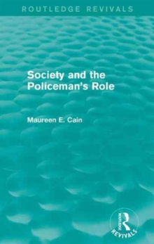Image for Society and the policeman's role