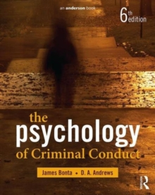 Image for The psychology of criminal conduct
