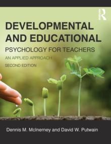 Image for Developmental and educational psychology for teachers  : an applied approach